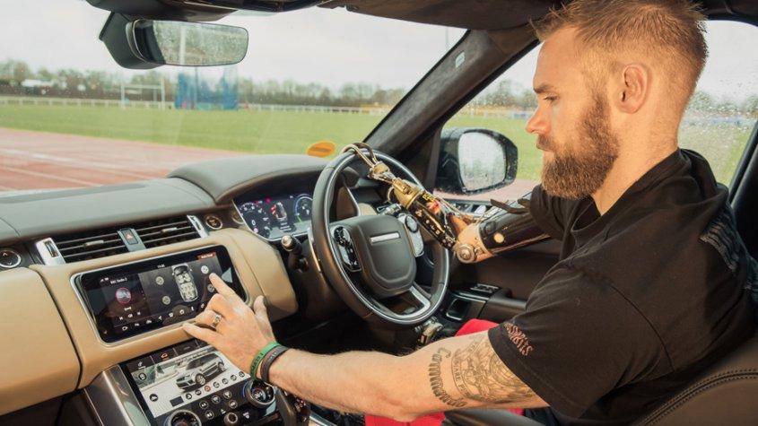 Концерн Jaguar Land Rover разработает автоматические двери