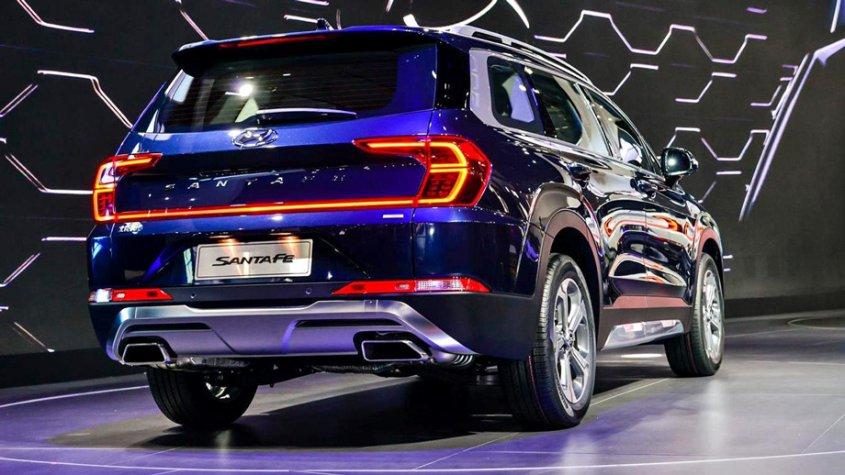 Китайский Hyundai Santa Fe будет снимать отпечатки пальцев