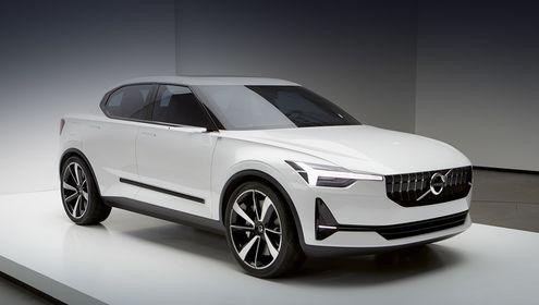 Следующий Volvo V40 будет «креативным» кроссовером