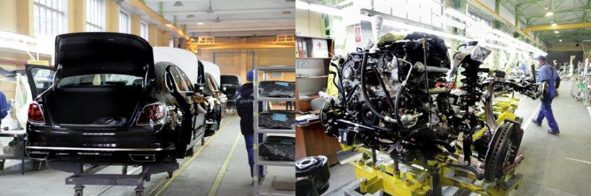 В Калининграде началась сборка модели Kia K900 нового поколения