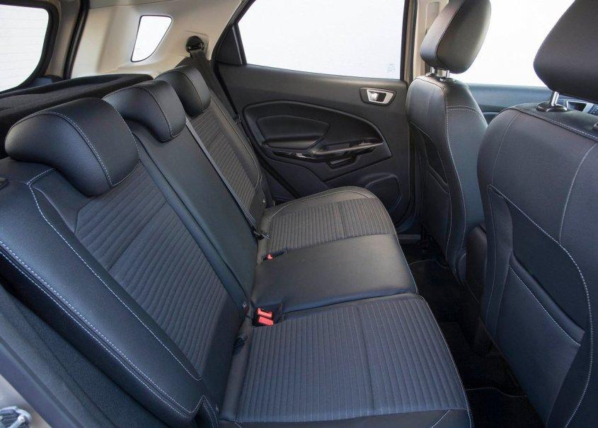 задний ряд сидений рестайлингового форд экоспорт 2019