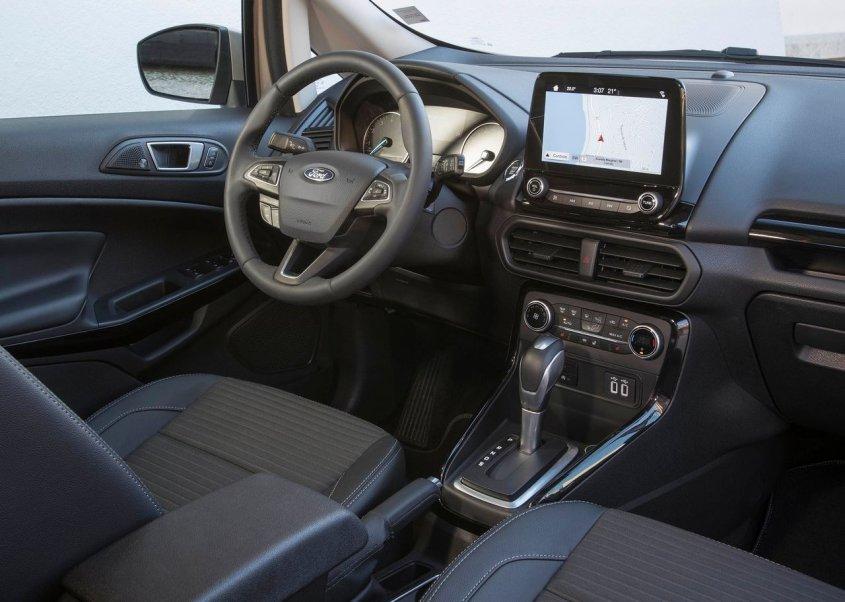 салон нового форд экоспорт 2019