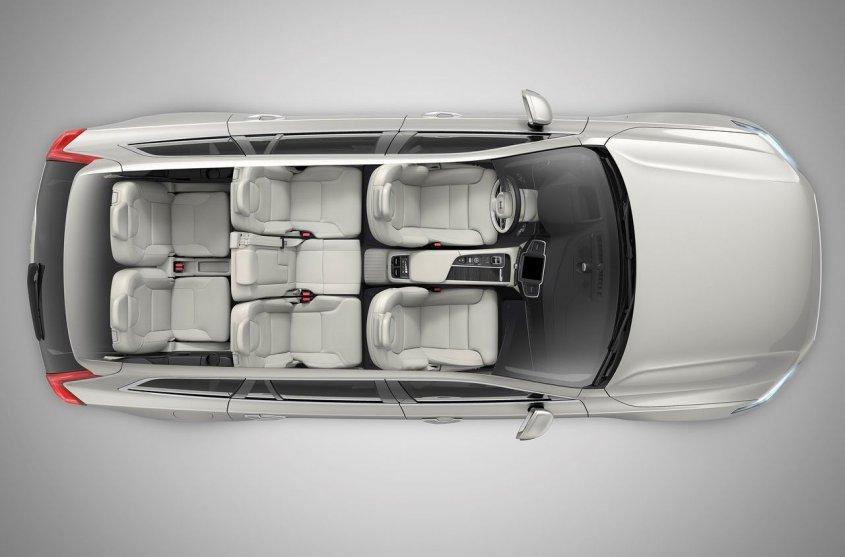 Volvo XC90 2019 салон