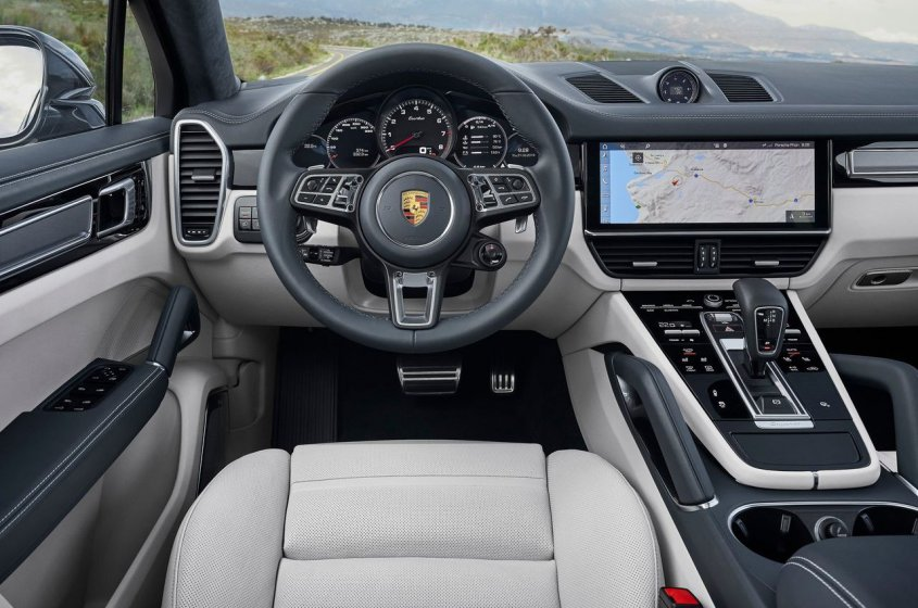 Porsche Cayenne Turbo Coupe 2019 интерьер