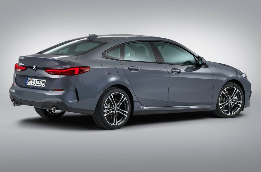 BMW 2 series Gran Coupe 2019 полубоком