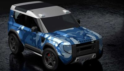 Мини Defender — самая доступная модель Land Rover