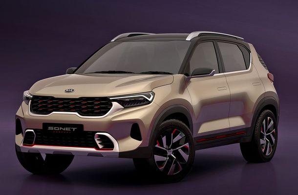 Новая глобальная модель Kia Sonet 2020