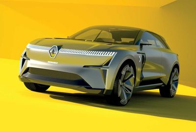 Renault Morphoz 2020 — удлиняющийся кроссовер