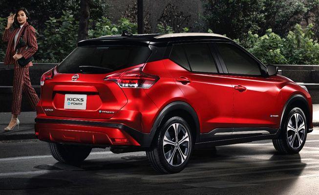 Рестайлинговый Nissan Kicks теперь гибрид e-Power
