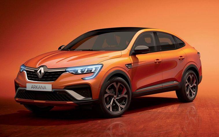 Новый Renault Arkana Gybrid появится в 2021 году