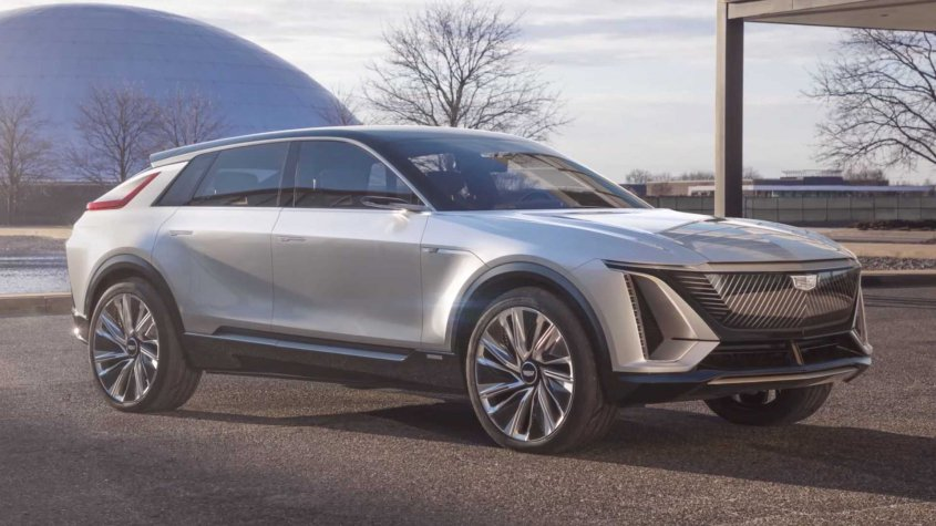 new Cadillac Lyriq 2021