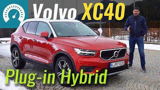 Volvo XC40 Plug-in Hybrid 2020 тест