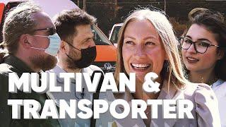 VW Multivan 6.1 & Volkswagen Transporter 6.1 // Большой тест-драйв