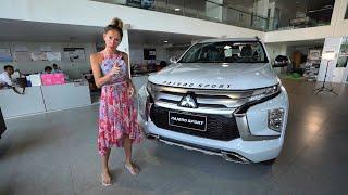 Новый Mitsubishi Pajero Sport больше не урод