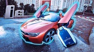 Новый BMW i8 Roadster за 13 000 000 РУБЛЕЙ