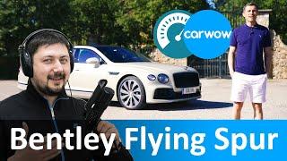 Bentley Continental Flying Spur 2020 — новейшая модель Бентли