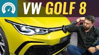 НОВЫЙ Golf 8 2020 первый обзор