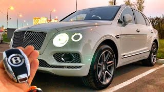 BENTLEY BENTAYGA с V8 4.0 – 435 л.с. обзор