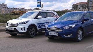 Ford Focus 2018 vs Hyundai Creta 2018