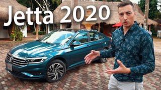 Тест Фольксваген Джетта 2020 с АВТОМАТОМ Тойоты