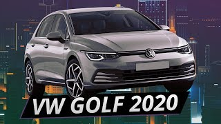Нашумевший Volkswagen Golf 8 2020
