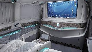 Cамый роскошный Mercedes-Benz V-Class VIP
