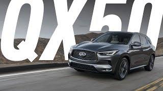 НОВЫЙ INFINITI QX50 2018