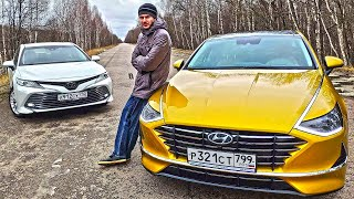 Почему Hyundai SONATA 2020 хуже TOYOTA CAMRY?