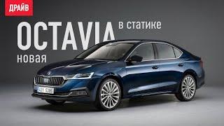 Skoda Octavia 2020 в статике // Драйв