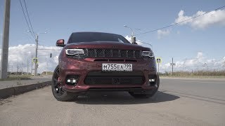 Новый Jeep Grand Cherokee SRT8 2018