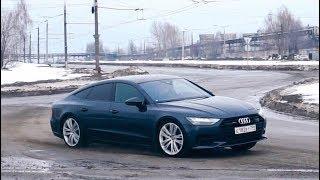 Новая Audi A7 2018 // Anton Avtoman