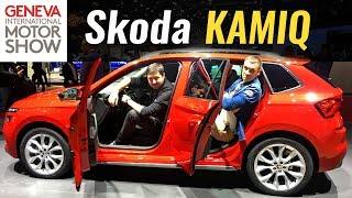 Обзор Skoda Kamiq 2019 для Европы