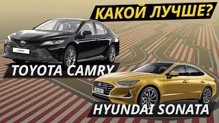 Toyota Camry vs Hyundai Sonata 2020