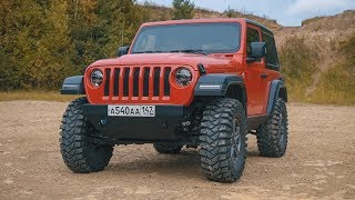 Тюнинг Jeep Wrangler 2019 // Academeg