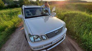 Купила ШИКАРНЫЙ Lexus LX 470 2003. Обзор Лиса рулит