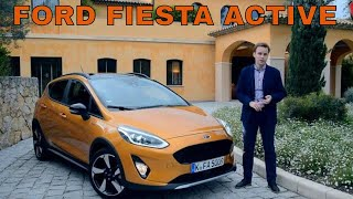 Новый Ford Fiesta Active 2019