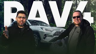 Новый Toyota RAV4 2020 — брутальный трансгендер