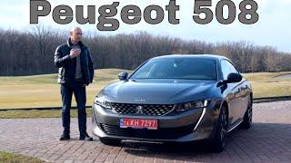 Первый обзор PEUGEOT 508 в Украине