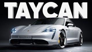 Porsche Taycan Turbo S 2019 во Франкфурте