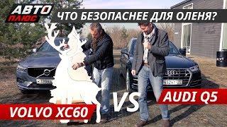 Volvo XC60 vs Audi Q5 2018