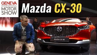 Первый обзор новой Мазда CX-30 2019