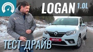 Тест-драйв Renault Logan 1.0 L