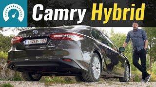Тест Toyota Camry Hybrid 2020 в Украине