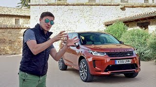 Тест-драйв и обзор Land Rover Discovery 5 facelift 2019