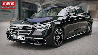 Новый Mercedes S-Class W223 — эталон роскоши и комфорта