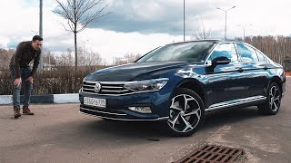 VW Пассат 2020 — главный антипод Тойоты