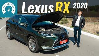 Lexus RX. Вместо VW Touareg или BMW X5?